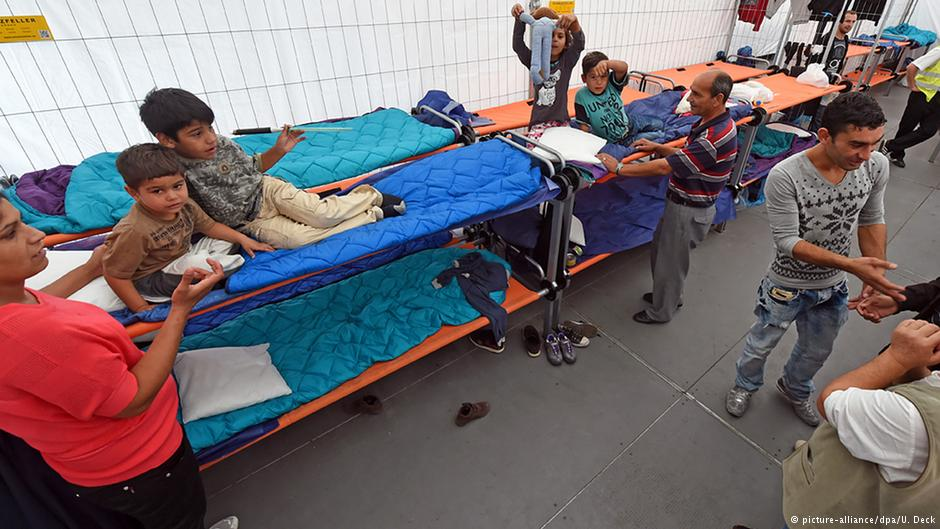 اقامتگاهی موقت در کارلزروهه برای پناهجویان