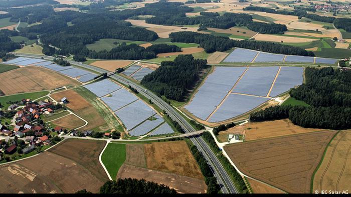آلمان پیشرو تولید انرژی خورشیدی