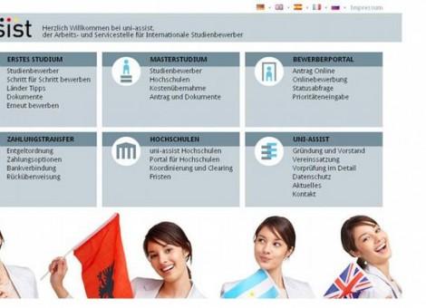 مرکز اونیاسیست در برلین به دانشجویان خارجی کمک میکند تا از بینقص بودن مدارکشان اطمینان حاصل کنند.