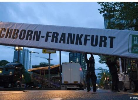 لغو مسابقه دوچرخهسورای فرانکفورت