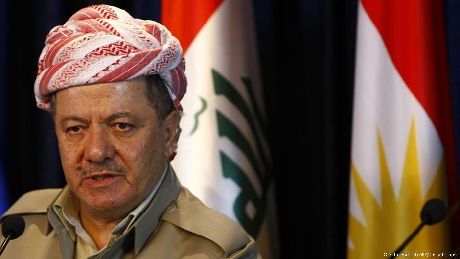 مسعود بارزانی رئيس اقلیم کردستان عراق