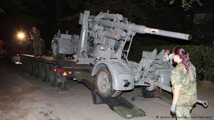 تسلیحات کشفشده در زیرزمین یک خانه مسکونی در آلمان