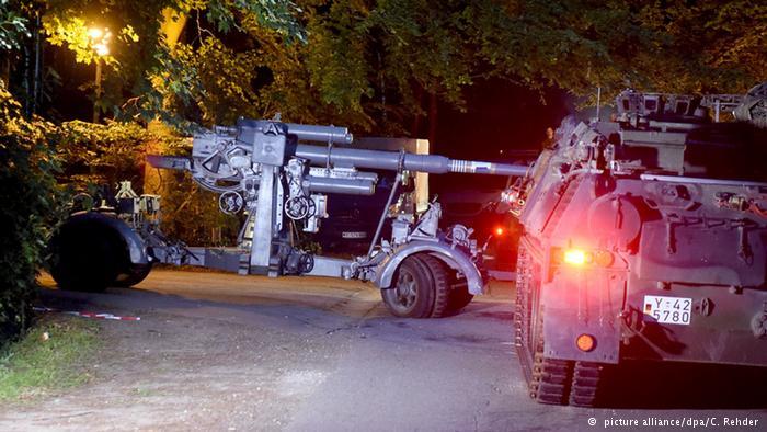 تسلیحات کشف شده در زیرزمین یک خانه مسکونی در آلمان
