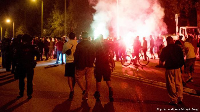 درگیری در هایدنآو (۲۱ اوت ۲۰۱۵)