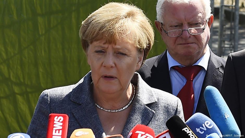 صدراعظم آلمان همبستگی خود را با پناهجویان اعلام کرد