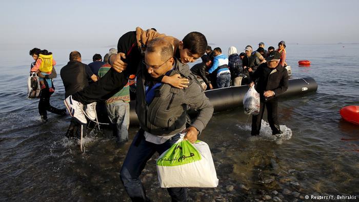 وضعیت اسفبار پناهجویان در جزایر تفریحی یونان 1