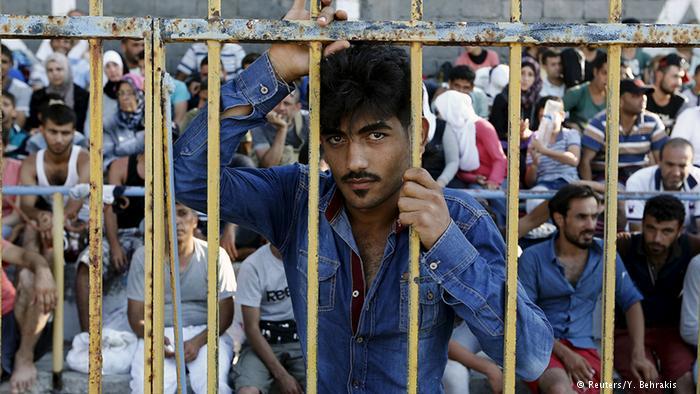 وضعیت اسفبار پناهجویان در جزایر تفریحی یونان5
