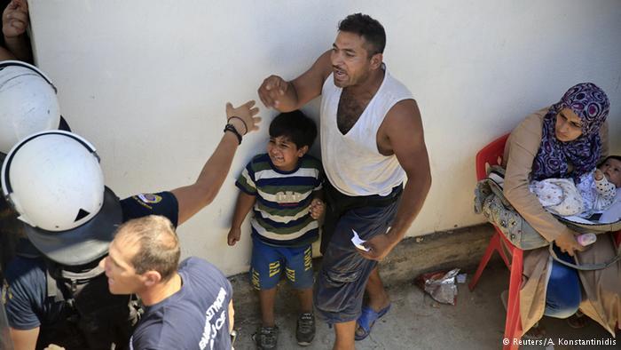 وضعیت اسفبار پناهجویان در جزایر تفریحی یونان6
