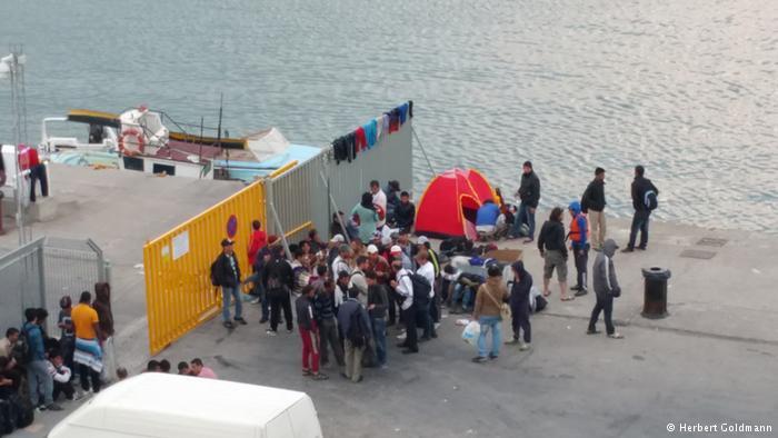 وضعیت اسفبار پناهجویان در جزایر تفریحی یونان8