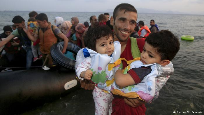 وضعیت اسفبار پناهجویان در جزایر تفریحی یونان9
