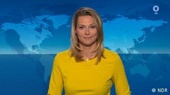 """آنیا رشکه، یکی از مجریان برنامهی پربینندهی """"چشمانداز"""" در شبکه اول تلویزیون آلمان"""