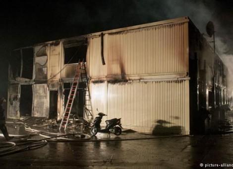 آتشسوزی در دو اقامتگاه پناهجویان در آلمان