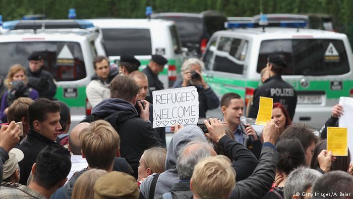 تصاویر ورود هزاران پناهجو به اتریش و آلمان7