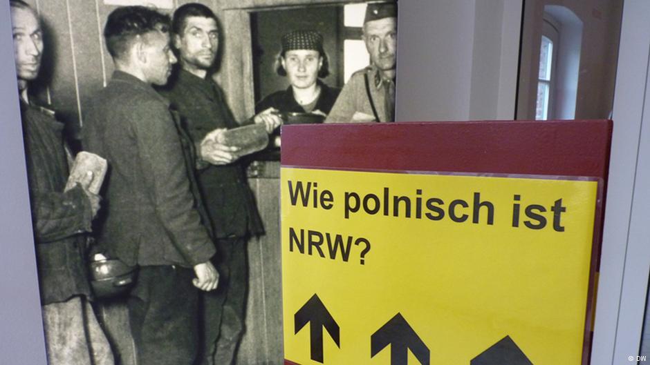 تصویری از کارگران معدن لهستانی در نمایشگاهی در دورتموند