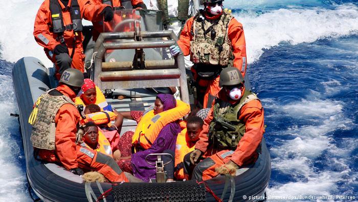 نجات از دریای مدیترانه