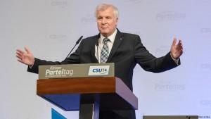 هورست زهوفر، رهبر حزب سوسیال مسیحی آلمان