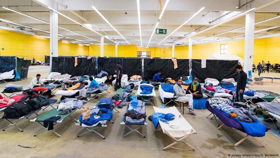 اقامتگاه پناهجویان در هامبورگ آلمان