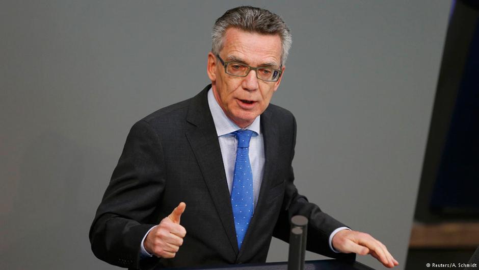 توماس دمزیر، وزیر کشور آلمان