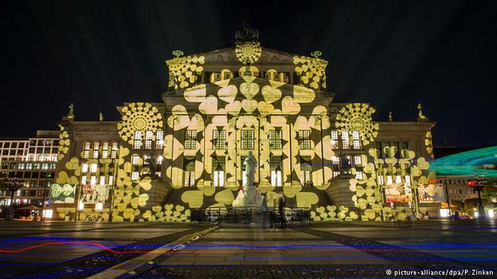 نورپردازی ساختمانهای با شکوه برلین