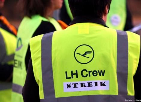 اعتصاب کارکنان لوفتهانزا و لغو صدها پرواز