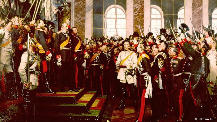 بنیانگذاری امپراتوری آلمان در ورسای