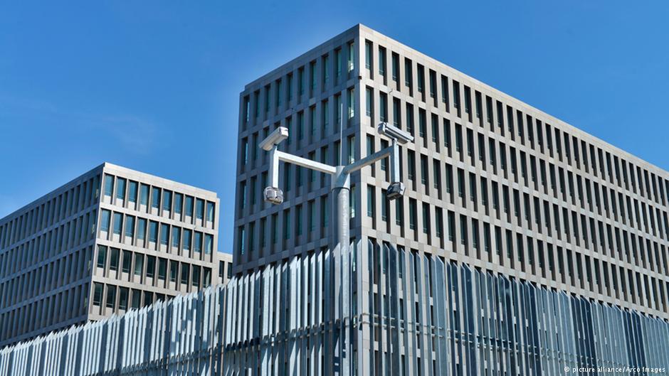 ساختمان مرکزی سرویس اطلاعاتی آلمان در برلین
