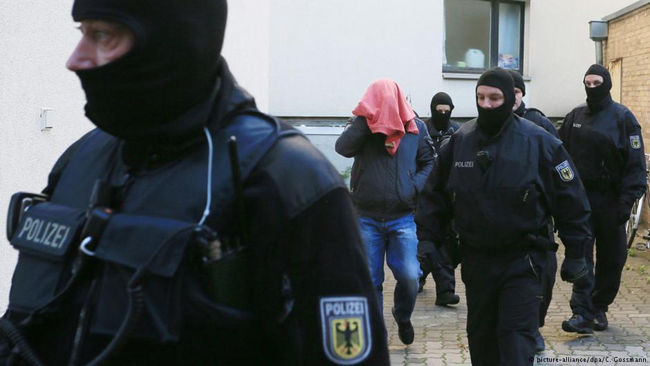 هجوم غافگیرکننده پلیس آلمان به شبکه قاچاق انسان