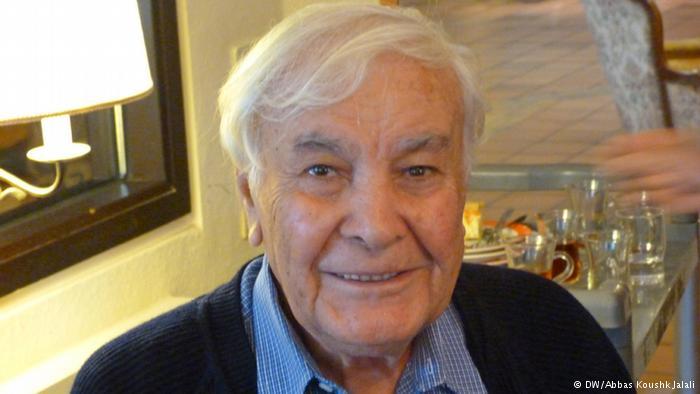 سید تقی ناجی یکی دیگر از ساکنان خانه سالمندان