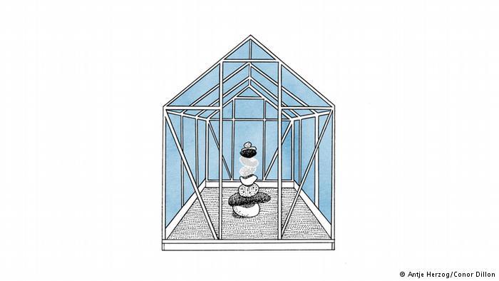 کسی که در خانهای شیشهای نشسته نباید سنگ پرتاب کند (Wer im Glashaus sitzt, soll nicht mit Steinen werfen)