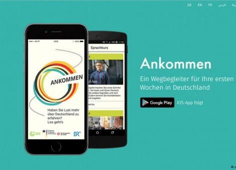 اپلیکیشنی برای کمک به پناهجویان فارسی زبان در آلمان