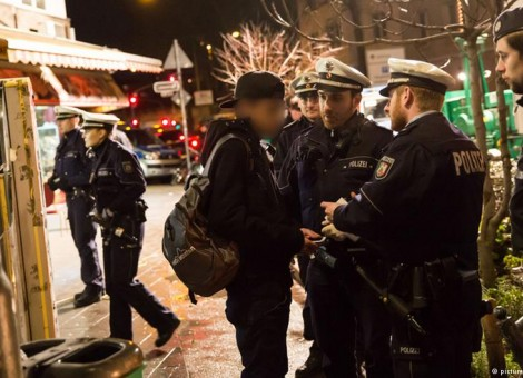 دستگیری ۴۰ تبعه شمال آفریقا در شهر دوسلدورف آلمان