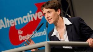 فراوکه پتری، رهبر حزب آلترناتیو برای آلمان