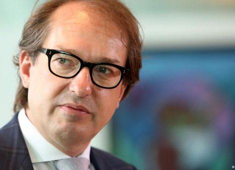 الکساندر دوبرینت، وزیر حمل و نقل و زیرساختهای دیجیتال آلمان