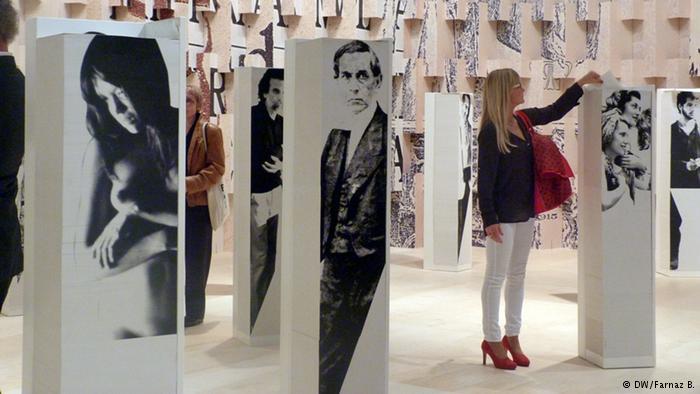 در تالار برزیل بخشی اختصاص داده شده بود به معرفی شخصیتهای داستانی این کشور در غالب پرتره روی ستونهایی ساخته شده از کاغذ.